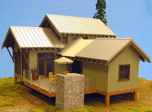 LARGE SCALE CABIN