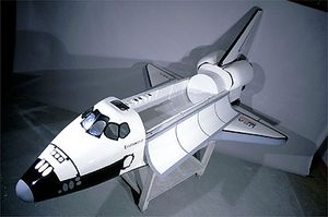 SPACE SHUTTLE 1:10 scale