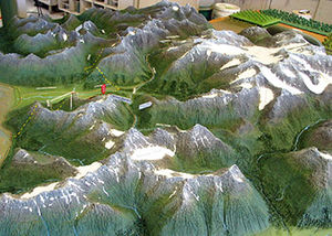 ALASKA TOPOGRAPHICAL MODEL