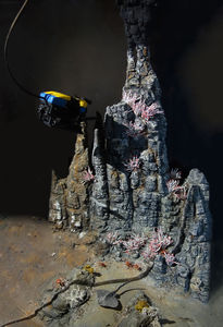 Endeavour Thermal Vent Diorama